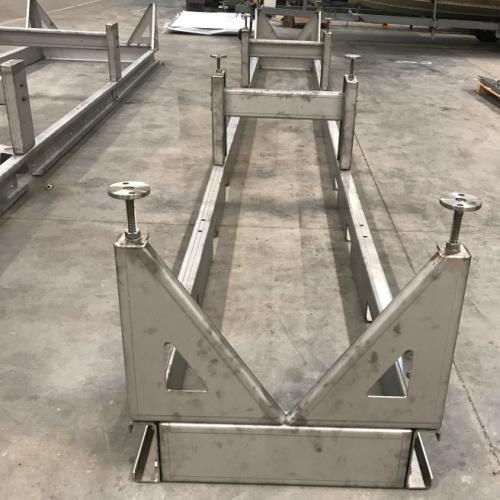 Her er en rustfritstål skillet fremstillet hos Star Industri til en dansk industri kunde